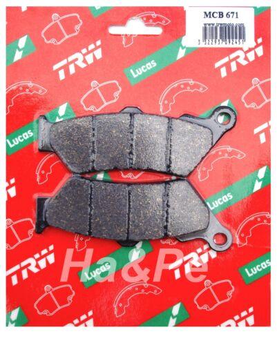 Original TRW-Lucas Bremsbeläge brake pads MCB671 Indian Scout