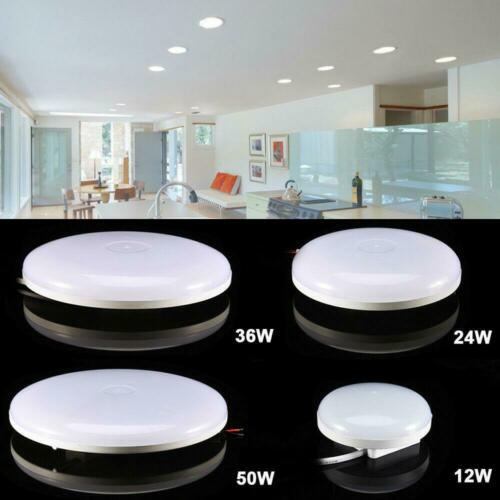 10x 18W LED Ceiling Down Light Surface Mount Kitchen Round Panel Lamp Fixture