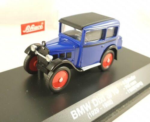 BMW Dixi 3//15 blau Schuco 1:43 50238003