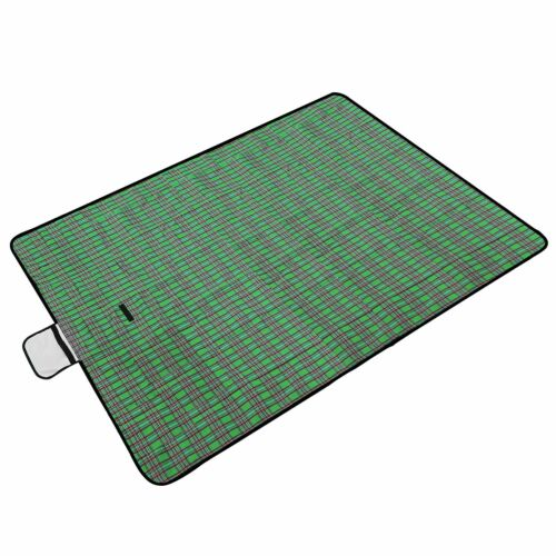 "60/""x78/"" Waterproof Picnic Blanket Outdoor Camping BBQ Beach Mat Pad Folding New"