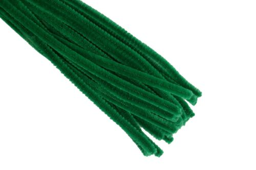 """6MM STEMS Choose Color /& Package Amount PIPE CLEANER 12/"""" PLAIN Chenille"""