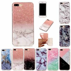 Marble-Patterned-Leather-TPU-Case-For-iPhone-X-8-7-6-S-Plus-5-4-S-SE-iTouch-5-6