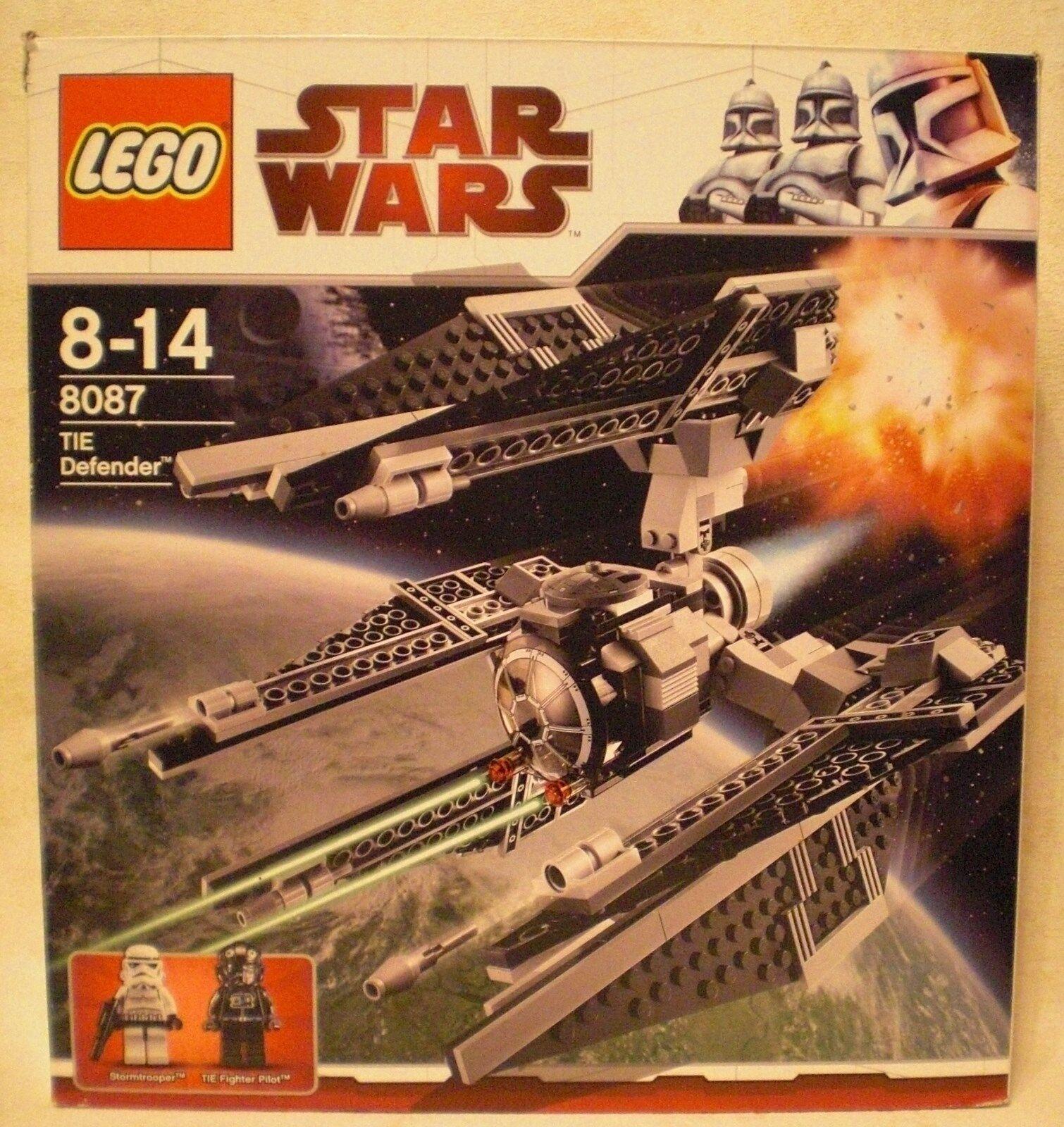 LEGO Star Wars 8087 - TIE Defender  Komplett mit Anleitung & OVP  TOP