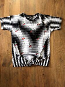 ???? Blogueurs Avf. Magnifique Dépouillé Cherry Design 13/14 Ans ????-afficher Le Titre D'origine