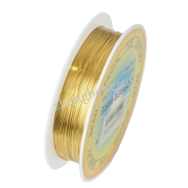 High Quality Gold Silver Plated Cord String Thread Wire 0.25-0.6mm