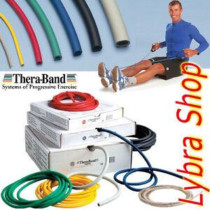 Thera-Band-TUBO-ELASTICO-1-5m-SCEGLI-LA-RESISTENZA-Tubing-Tubolare-Fitness-Sport