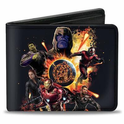 Buckle Down Men Wallet Avengers Super Heroes Infinity War Marvel Gift Bi Fold