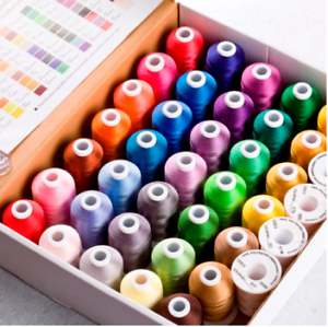 40 Colors Brother Polyester Embroidery Thread For Brother//Babylock//Janome