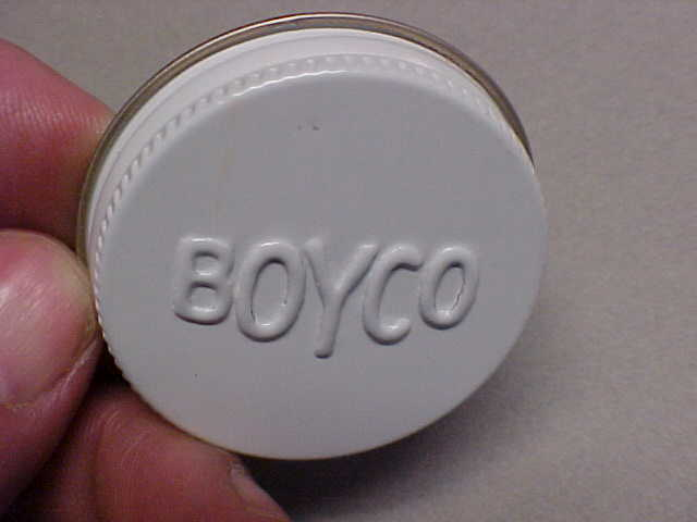 BOYCO  Emblem Logo 3 CAP LIDS for Gas - Oil - Water Cans on Runningboards