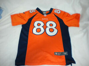 Details about Nike On Field Demaryius Thomas #88 Denver Broncos jersey YOUTH M SEWN