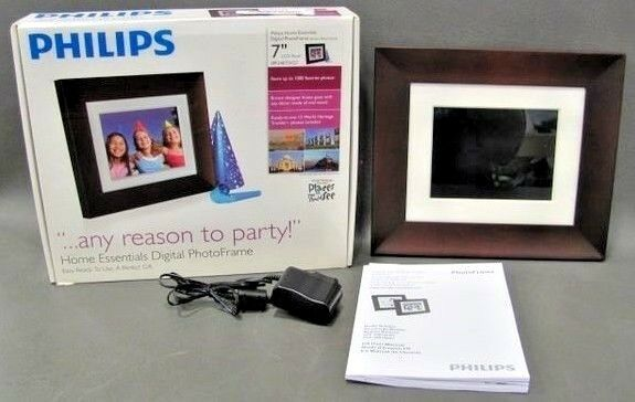Philips Spf3407dg7 7 Lcd Digital Photo Frame 800x600 Resolution Ebay