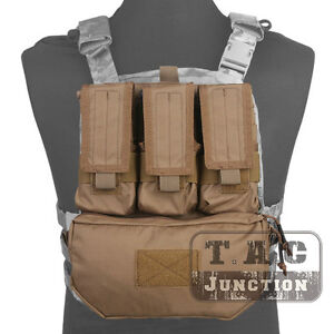 Image is loading Emerson-Tactical-MOLLE-Assault-Pack-Panel-Plate-Carrier- 32ea7cf69c886