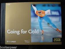 PRESTIGEBOEKJE PR 10 2006 OLYMPISCHE SPELEN GOING FOR GOLD CAT.WRD. 30,00 EURO