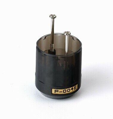 Rhodium Plating Oyaide P-3.5//4 SR 3.5mm Mini Stereo 4 Poles Plug Silver