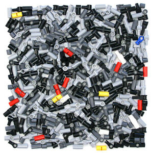 Lego-Technic-Connector-Joint-Coupler-380-Parts-Black-Red-Grey-Yellow-NEW