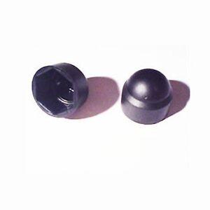 50-pack-of-M8-Nylon-Plastic-Hex-Nut-Cover-Cap-BLACK