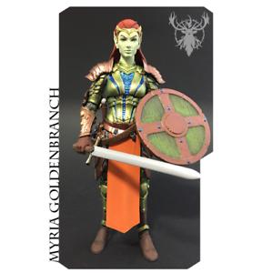 Four Horsemen Mythic Legions (6 Inch) Myria goldenbranch  MOC