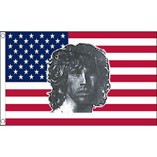 Usa Morrison Flag 5Ft X 3Ft The Doors Jim American Rock Band Banner New
