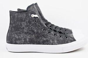 Converse-Chuck-Taylor-CTAS-II-Hi-Mens-Size-11-Black-Reflective-Shoes-153544C