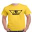Aerosmith-Wings-T-Shirt-Classic-Rock-Band thumbnail 10