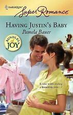 Having Justin's Baby, Bauer, Pamela, 0373714815, Book, Good