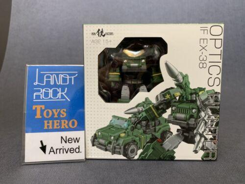 Toys Hero In Hand Transformers Iron Factory IF EX-38 Optics Hunter Mini Hound