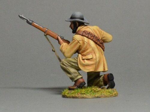 TEAM MINIATURES SECOND BOER WAR 1899 1902 BOER6017 BOER KNEELING LOADING RIFLE