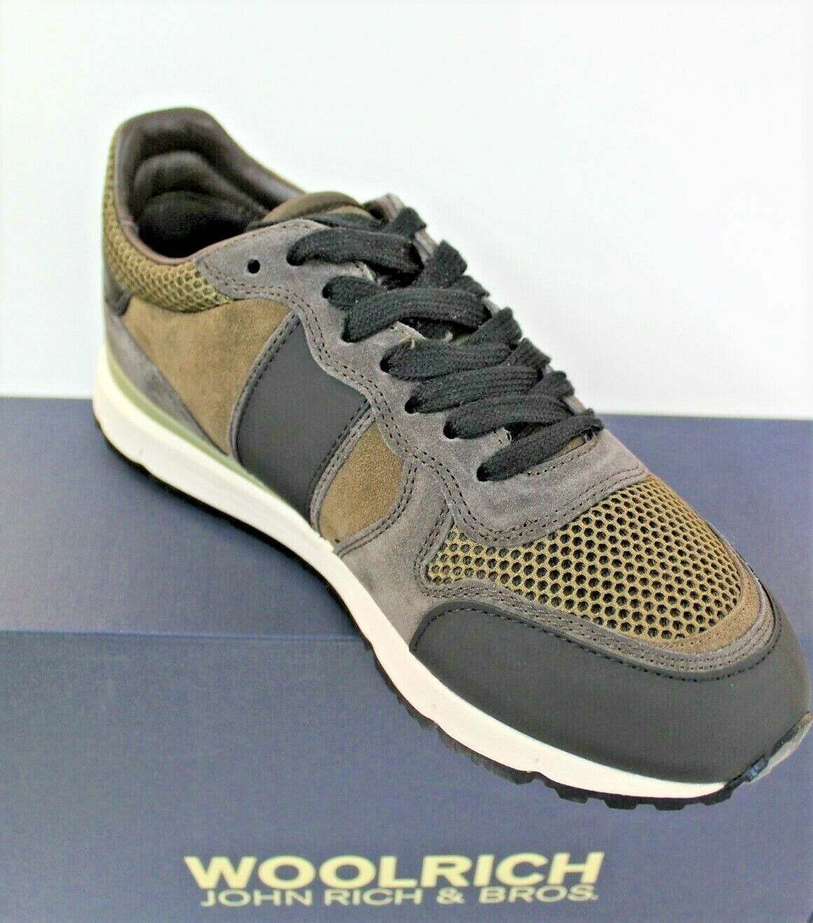 WOOLRICH FOOTWEAR SCARPONCINO Turnchaussures hommes Jogger W3000401 Suola VIBRAM  A I