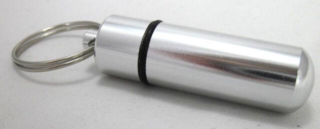 Micro Versteck Geocaching Schlüsselanhänger wasserdicht Döschen Cache Pillendose