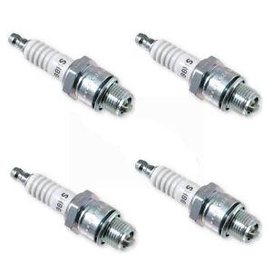 NGK 4 Pack of Genuine OEM Standard Spark Plugs # BR9ES-4PK