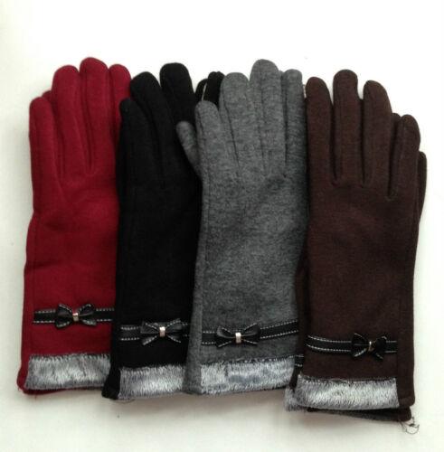 Fashion Touch Screen Wrist Gloves For women Warm Winter Gloves