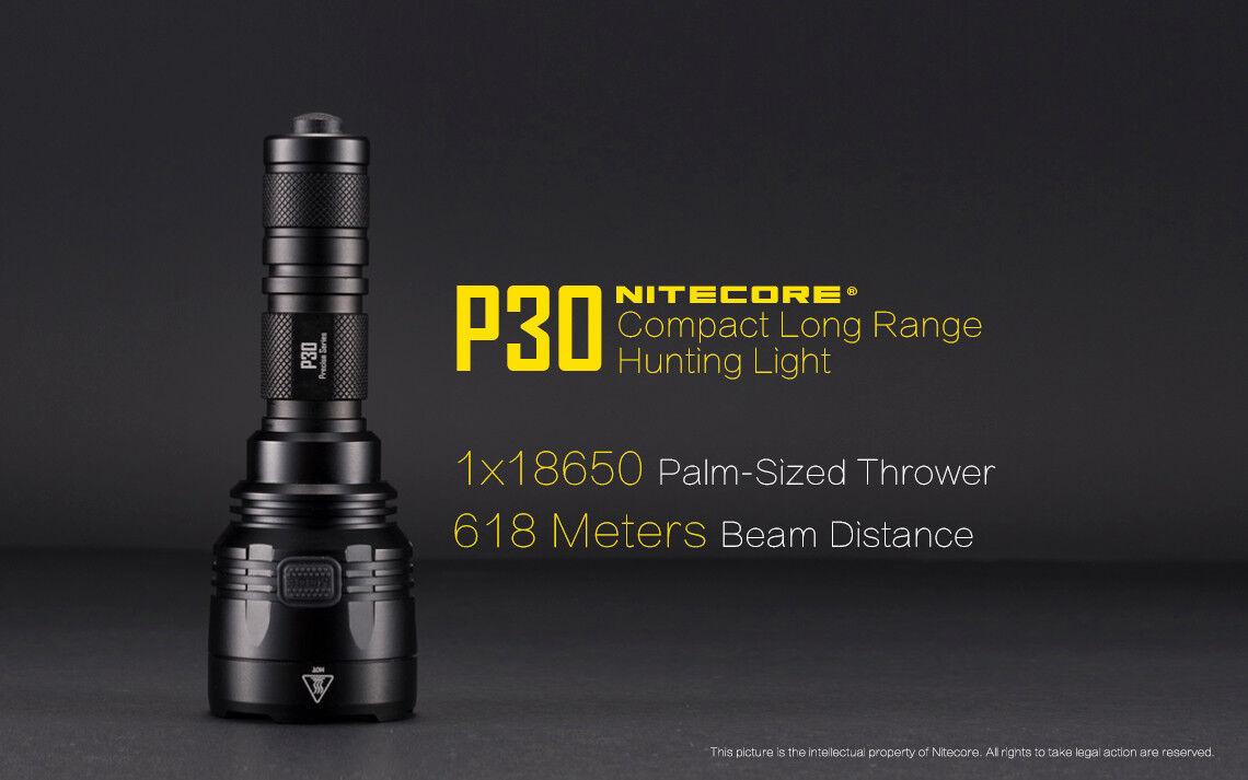 Nitecore Nitecore Nitecore P30 1000 Lumen XP-L Hi V3 Led Taschenlampe 618m Werfen Fl-Nite-P30 3874c4