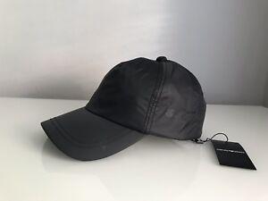 Emporio Armani Logo Baseball Cap   Hat 624500-CC993 In Black BNWT ... ab62c8ea4df