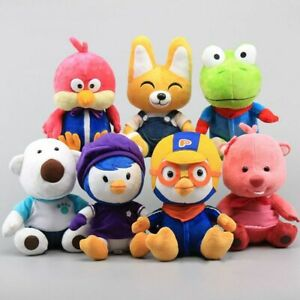 Pororo-039-s-Racing-Adventure-Penguin-Crong-Eddy-Loopy-Petty-Harry-Poby-Plush-Toys