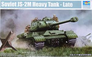 TRUMPETER-05590-Soviet-JS-2M-Heavy-Tank-Late-in-1-35