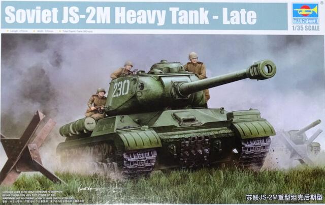 TRUMPETER® 05590 Soviet JS-2M Heavy Tank Late in 1:35