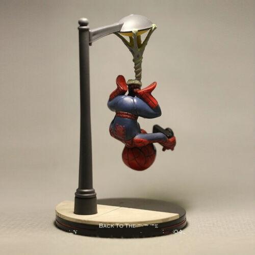 Disney Marvel Avenger Spider Man take photo Action Figure Model Anime Decoration