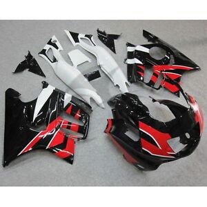 Black Injection Abs Fairing Kit For Honda Cbr600f3 Cbr 600 F3 97 98