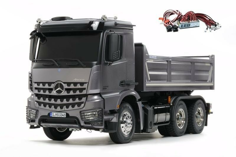 Tamiya mercedes benz arocs 3348 3-alineación hinterkipper, led-lichtset - 300056357led