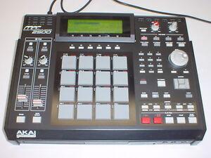 akai mpc2500 music production center sampler drum machine mpc 2500 ebay. Black Bedroom Furniture Sets. Home Design Ideas