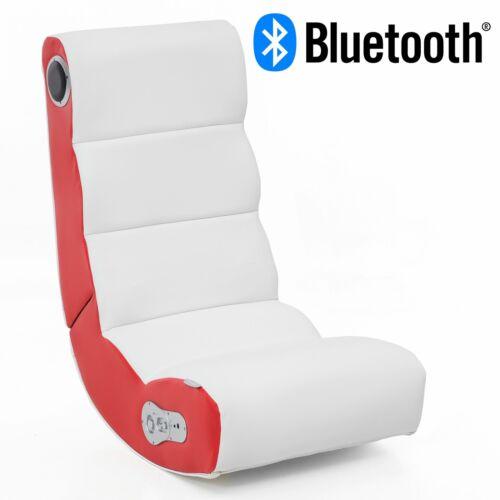 WOHNLING Soundchair avec Bluetooth Chaise Musique Chaise Multimédia Simili Cuir