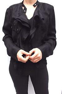 Blazer Jacket 12 Lightweight Shirt Millen Black 40 Silk Dress Vandfald Karen 8zng7TWcRg