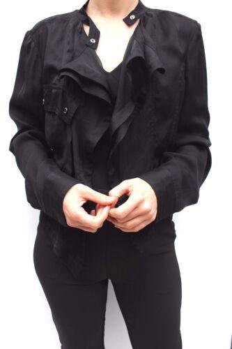 Black Karen 12 Dress Lightweight Millen Blazer Vandfald 40 Jacket Silk Shirt AAqgxRr