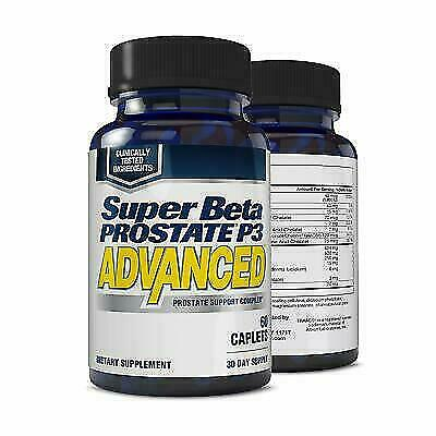 New Vitality Super Beta Prostate P3 Advanced 60 Caplets For Sale Online Ebay