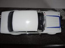 FORD ESCORT MK 1 RS 2000 WHITE/BLUE TRIPLE 9 1/18 DIECAST