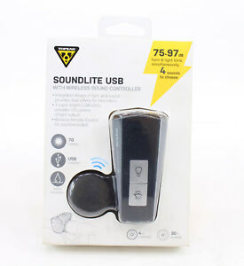 Topeak-SoundLite-USB-Bicycle-Front-Light-and-Horn