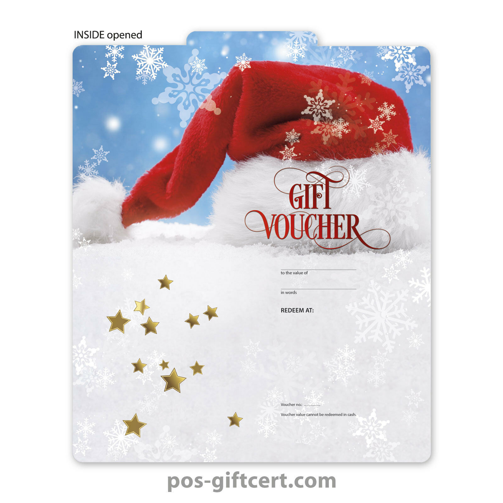 Gift vouchers for christmas X294GB