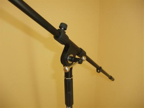 2 St 1 Tragetasche Mikrofonständer mit je 6 m Mikrofonkabel Mikrofonklammer