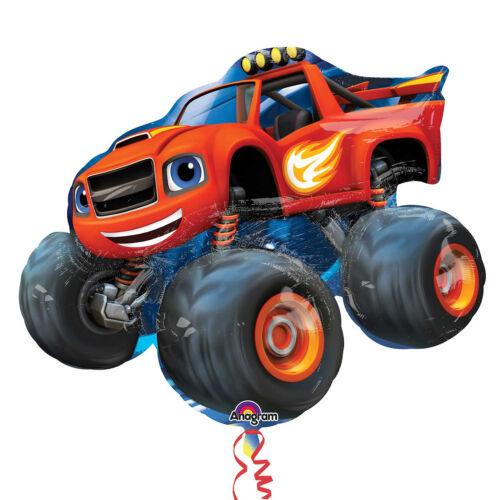 """Blaze e il mostro macchine 34/"""" Supershape Foil Balloon Da Amscan"""