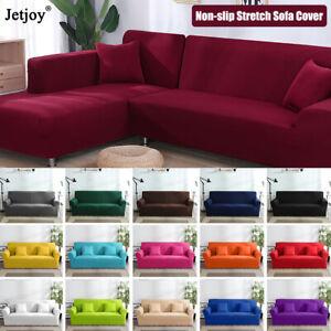 Cubre sofá de 1//2//3 asientos Elástico Slipcover Sofá Stretch Sofá protector de Reino Unido